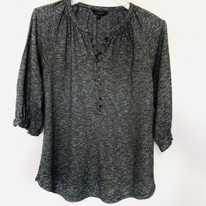 Lucky Brand Black/White Top S